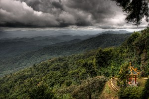 Mountains around Chiang Mai, Thailand. Photograph by zoutedrop, Flickr. Licensed under CC BY-NCl 2.0.
