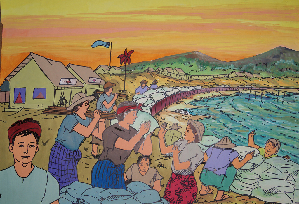 Myanmar - One of the winners of the ASEAN and SAARC drawing competition for 2011.  Photo by: UN ISDR. License under Creative Commences Attribution-NonCommercial-NoDerivs 2.0 Generic