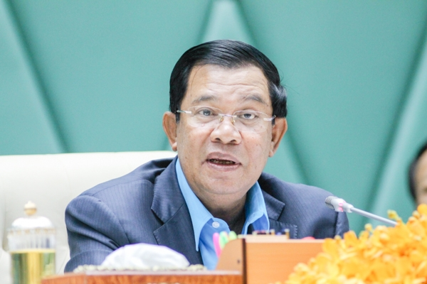 Prime Minister Hun Sen ordered the provincial governor of Tbong Khmum to stop all forms of logging and timber trading. KT/ Ven Rathavong