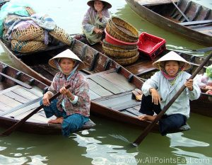 Women along the Mekong Delta
