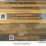 Haze and Social (In)Justice in Southeast Asia: Past Experience and What Next?