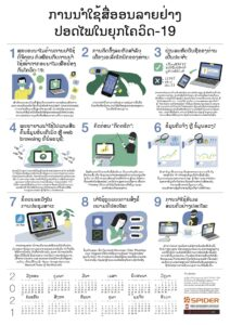 9 Tips to Stay Safe Online in the Age of COVID-19 (Lao)