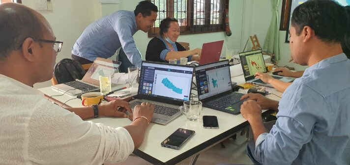2021 Data Literacy Training for Indigenous Peoples Network in Chiang Mai, Thailand by Open Development Thailand